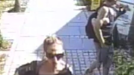CCTV appeal following theft at Notcutts in Norwich. Picture Norfolk Police
