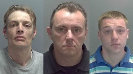 Just some of the criminals jailed in Norfolk and Suffolk in September.