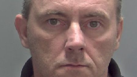 Karl Raine who was sentenced at Norwich Crown Court to18 years for rape and sexual activity with a c