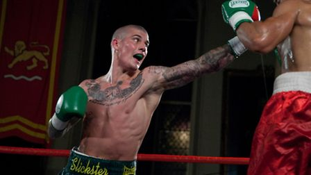 Norwich boxer Nathan Dale in action. Photo: Jerry Daws/Stillfocused.co.uk.