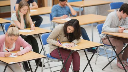 A-level results are out today. Picture: PA