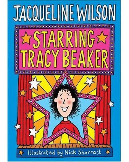 Picture shows Starring Tracy Beaker (Hardcover) by Jacqueline Wilson (Author) full libraries report