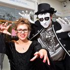Youngsters and business owners take part in a special Halloween event in Lowestoft Town Centre. Lucy