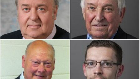 Councillors Paul Darby, Mick Peake, Baron Chenery of Horsbrugh and Graham Peake all had liability or
