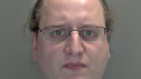 Calvin Edwards, 33, from Greenacre Road in Hingham, has had his jail term extended. Photo: Norfolk P