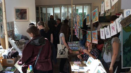 The On Paper Festival in Norwich. Photo: On Paper.
