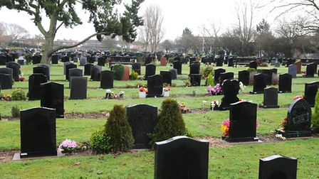 Borough of Great Yarmouth Magdalen Lawn Cemetery and Crematorium at Gorleston