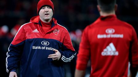 Munster head coach Anthony Foley, who has died at the team hotel in Paris before their European Cham