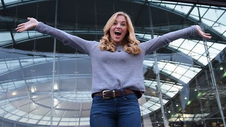 You Tube presenter Maddie Moate who is taking part in the Norwich Science Festival at the Forum. Pic