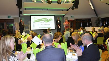 Picture from last year's James Paget hospital trust's staff awards.