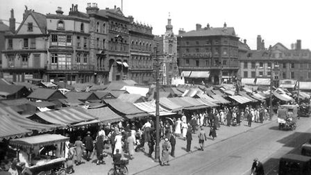 Evening News Images of Norwich Market 1932. Credit: Eastern Counties Newspapers