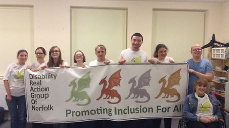 Picture of Dragon team from left to right: Astrid Ratcliff, Steph Baines, Abbie Morgan, Ruth Cordle,