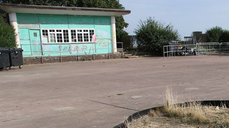 The site of the proposed development at North Lodge Park. Picture: ALLY McGILVRAY