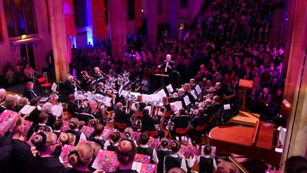 The 2015 EDP Festival of Carols at St Andrew's Hall, Norwich.PHOTO BY SIMON FINLAY