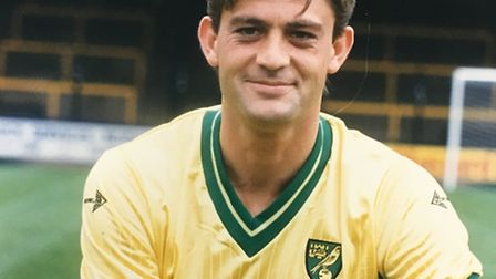 Kevin Drinkell was the last player to score a winner for Norwich at Craven Cottage. Picture: Archant