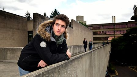 UEA student and UEA International Student Society President, Jean Roeting.Picture: ANTONY KELLY