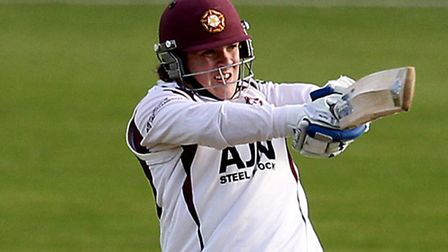 Rob Newton in action for Northamptonshire. Picture: Simon Cooper/PA Wire