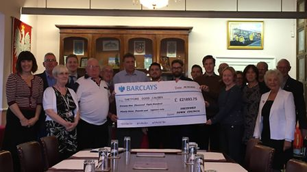 12 community organisations in Thetford have received grants totalling almost £22,000 from the town c