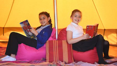 Langham Village School have a new Bell Tent providing an exciting outdoor learning area for the chil