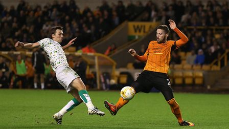 Jonny Howson's last Norwich City appearance came in the win at Wolves. Picture by Paul Chesterton/Fo