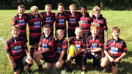 Wymondham Under-10s beat sides from Diss, Swaffham and Holt to reach the final of Leicester Tigers'