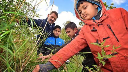 Children from St Paul with St Luke School in Mile End, London at Barton Turf Adventure Centre. Jon H
