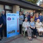 Halesworth Community Nursing Care Fund with the money for its information and support centre project