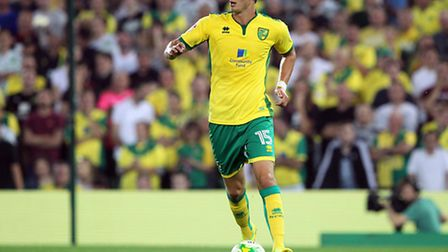 Don't blame the absence of Timm Klose for Norwich's defensive issues at Newcastle. Picture: Paul Che