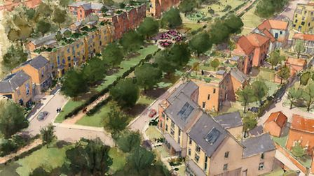Beeston Park development in Old Catton/Sprowston. Picture: Supplied