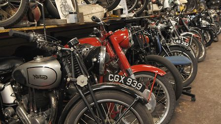 This picture shows North Norfolk Motorcycle Museum. Photo: Colin Finch