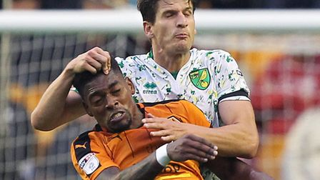 Norwich City defender Timm Klose revealed he was was the subject of a bid from Wolves' bitter rivals