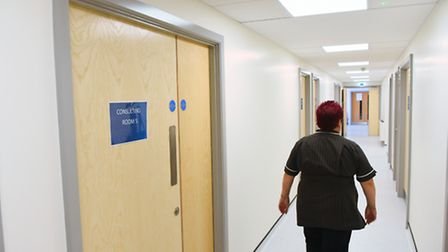 The walk-in centre in Rouen Roa, Norwich, could host more NHS services. Picture by SIMON FINLAY.