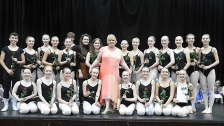 Charlotte Corbett's retirement from Central School of Dancing & Performing Arts.