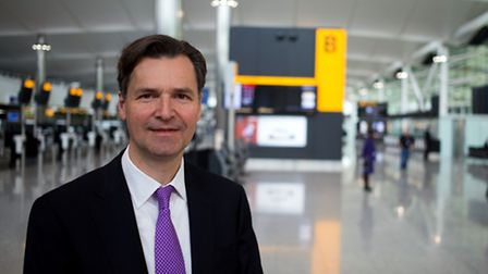 John Holland-Kaye, the boss of Heathrow Airport, who has again insisted that expansion at the west L