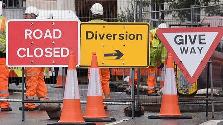 Motorists have been warned of disruption ahead. Picture: DENISE BRADLEY