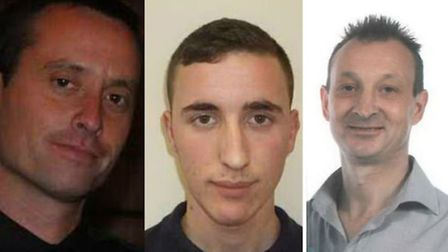 Three of the people who are currently reported as missing to Norfolk Police. Picture Norfolk Police
