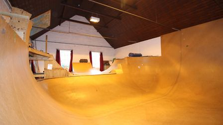 This former village hall has something special inside - an indoor skate park: Pictures Attik propert