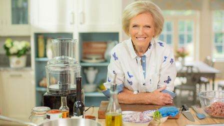 Mary Berry's Foolproof Cooking. Pictured: Mary Berry. Picture: PA Photo/BBC/Shine TV