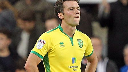 Jonny Howson has an ankle knock to shake off ahead of Norwich City's trip to Fulham. Picture by Paul