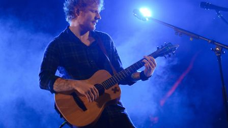Ed Sheeran performs a secret show in the woods at Latitude 2015 - Paul Bayfield