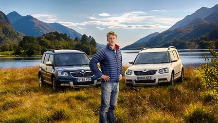 British adventurer Alastair Humphreys is leading a koda-backed expedition to the Eastern Himalayas t