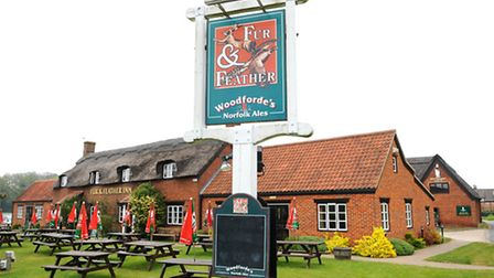 Fur and Feather pub at Woodbastwick.Home of Woodfordes Norfolk Ales Picture: James Bass
