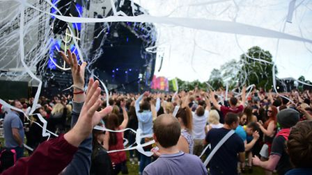 Radio 1 Big Weekend at Earlham Park, Norwich, in 2015. Picture: ANTONY KELLY