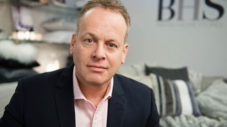 David Anderson, Managing Director of BHS International, as the Qatari owners of the rebooted BHS bra