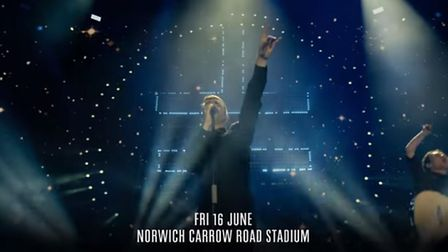 Tickets go on sale on Friday 28 October (Picture: Take That/YouTube)