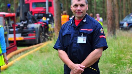 Chief Fire Officer Roy Harold.