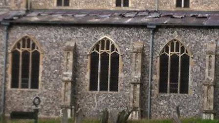 Thieves have stolen lead from the roof of Blickling Church