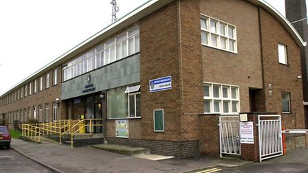 A general view of Gt Yarmouth Police Station. Pic by Keiron Tovell.