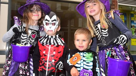 A special Halloween event in Lowestoft Town Centre. Photo: Nick Butcher