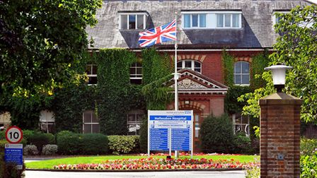 Hellesdon Hospital, the headquarters of Norfolk and Suffolk NHS Foundation Trust.